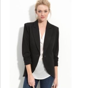 Nordstrom Gibson Ruched Sleeve Blazer - small